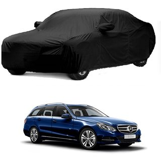 SpeedRo All Weather  Car Cover For Opel Corsa (Black With Mirror )