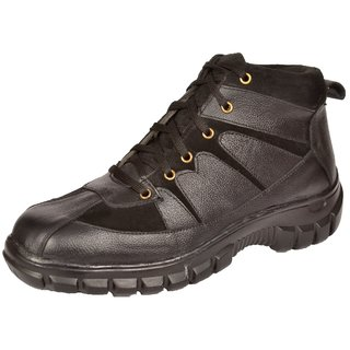 Rich Field Men New High Ankle Safety Shoe with Steel Toe