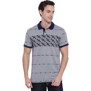 Deezeno Grey Polo T-Shirt
