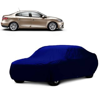 AutoBurn UV Resistant Car Cover For Toyota Fortuner (Blue Without Mirror )
