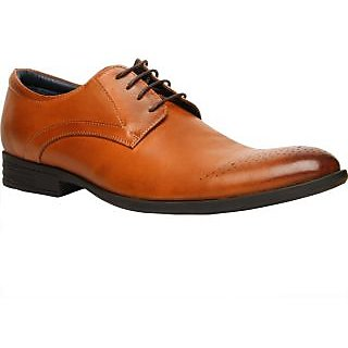 HUSH PUPPIES -Men Tan Formal Shoes