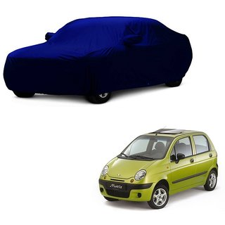 SpeedGlorY All Weather  Car Cover For Skoda Octavia (Blue With Mirror )