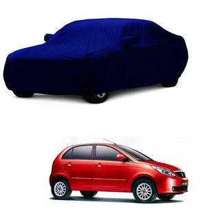 SpeedGlorY All Weather  Car Cover For Maruti Suzuki Ritz (Blue With Mirror )
