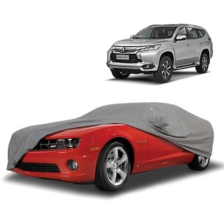 Speediza UV Resistant Car Cover For Nissan Patrol (Grey With Mirror )