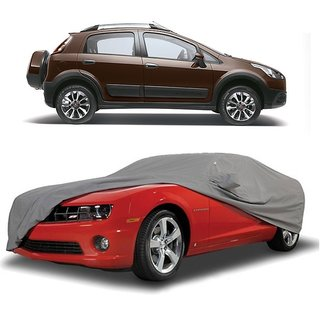SpeedRo All Weather  Car Cover For Ford Aspire (Grey With Mirror )