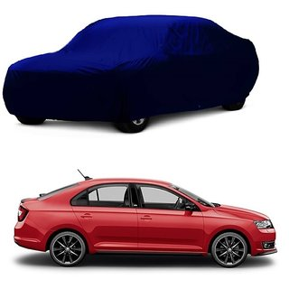 SpeedRo All Weather  Car Cover For Hyundai Santro Xing (Blue Without Mirror )