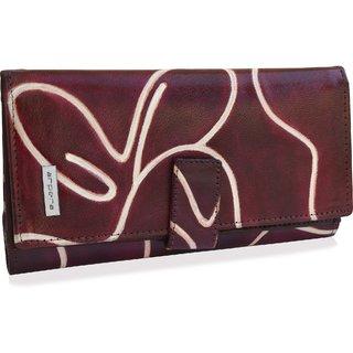 arpera Leather Ladies purse Cherry C11445-4