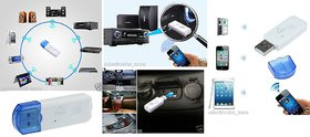 USB Bluetooth stereo music audio Receiver - Adapter Dongle A2DP (No Aux Required)