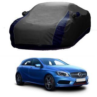 AutoBurn Car Cover For Audi A3 (Designer Grey  Blue )