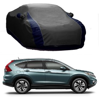 RoadPluS All Weather  Car Cover For Mahindra Bolero (Designer Grey  Blue )