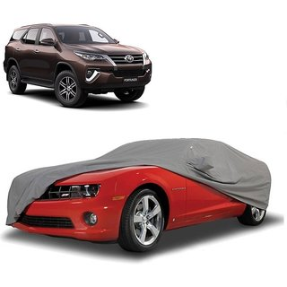 SpeedRo All Weather  Car Cover For Renault Fluence (Grey With Mirror )