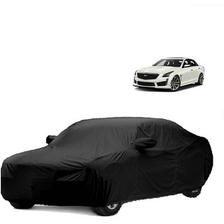 SpeedRo All Weather  Car Cover For Tata Sonata Fluidic (Black With Mirror )