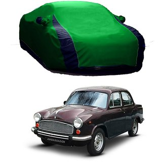 SpeedRo All Weather  Car Cover For Maruti Suzuki Alto K10 New (Designer Green  Blue )