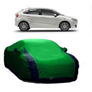RoadPluS All Weather  Car Cover For Fiat Aventura (Designer Green  Blue )