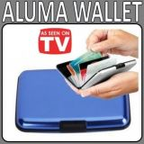 Aluma Wallet Blue  Color (As Seen On TV )