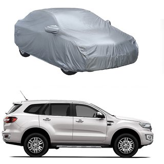 SpeedGlorY All Weather  Car Cover For Land Rover Discovery Sport (Silver With Mirror )