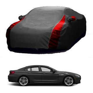 SpeedRo All Weather  Car Cover For Honda Accord (Designer Grey  Red )