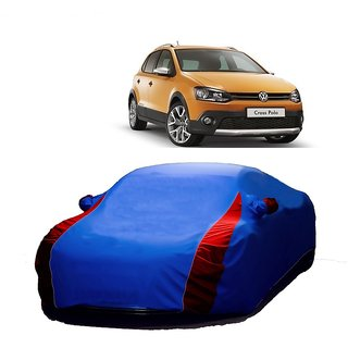 RoadPluS All Weather  Car Cover For Mercedes Benz S-Class (Designer Blue  Red )