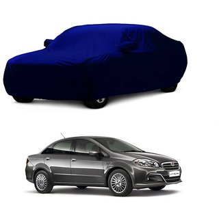 SpeedGlorY All Weather  Car Cover For Volkswagen Polo (Blue With Mirror )