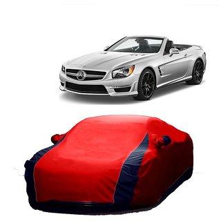 AutoBurn Car Cover For Maruti Suzuki Swift Dzire New (Designer Red  Blue )