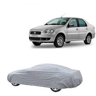 SpeedRo All Weather  Car Cover For Mahindra Thar (Silver Without Mirror )