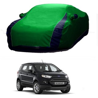 SpeedRo All Weather  Car Cover For Hyundai Creta (Designer Green  Blue )