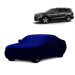 SpeedGlorY All Weather  Car Cover For Tata Safari Dicor (Blue With Mirror )