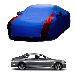 SpeedRo All Weather  Car Cover For BMW 5 Series (Designer Blue  Red )