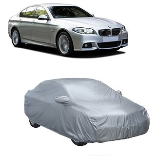 SpeedRo All Weather  Car Cover For Mahindra 100 (Silver With Mirror )