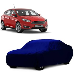 SpeedGlorY All Weather  Car Cover For Ford Fiesta (Blue Without Mirror )