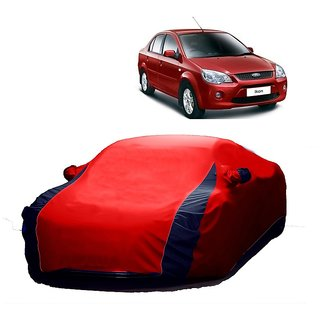 SpeedRo All Weather  Car Cover For Tata Indica (Designer Red  Blue )