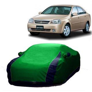 SpeedRo All Weather  Car Cover For Audi Q7 (Designer Green  Blue )