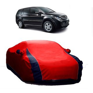 SpeedRo All Weather  Car Cover For Maruti Suzuki Alto-800 (Designer Red  Blue )