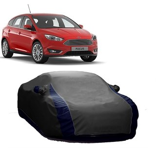 SpeedRo All Weather  Car Cover For Ford Fiesta Classic (Designer Grey  Blue )