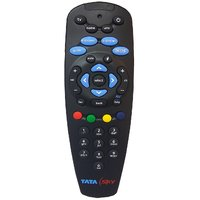 Tatasky Set-Top Box Remote Works With Your TV Also (SP)