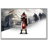 Ezio In Assassins Creed Brotherhood Poster By Artifa