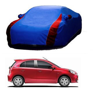 SpeedGlorY All Weather  Car Cover For Audi S4 (Designer Blue  Red )