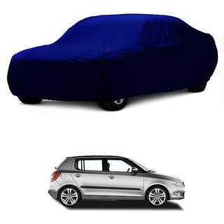 Bull Rider All Weather  Car Cover For Jaguar F-Pace (Blue Without Mirror )