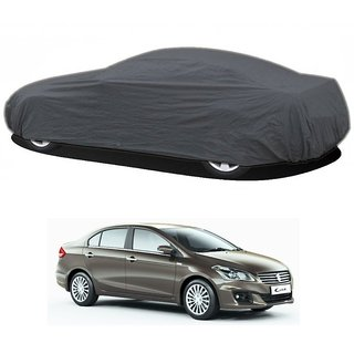 MotRoX Water Resistant  Car Cover For Chevrolet Captiva (Grey Without Mirror )