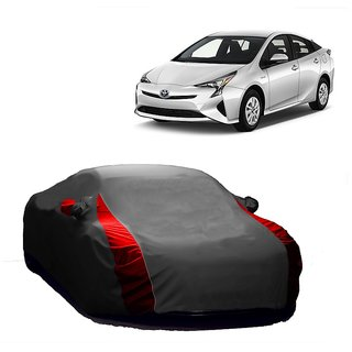 Speediza UV Resistant Car Cover For Jaguar S-Type (Designer Grey  Red )
