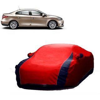 SpeedRo Car Cover For Ford Fiesta (Designer Red  Blue )