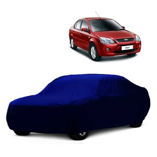 SpeedGlorY All Weather  Car Cover For Ford Ikon (Blue Without Mirror )