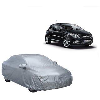 DrivingAID Car Cover For Maruti Suzuki Celario (Silver With Mirror )