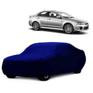 SpeedGlorY All Weather  Car Cover For Toyota Land Cruiser (Blue Without Mirror )