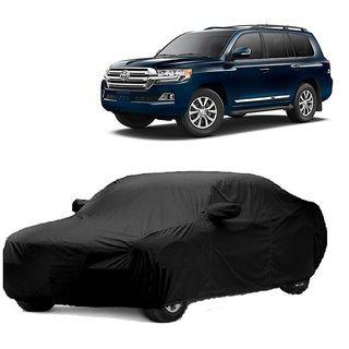 MotRoX Water Resistant  Car Cover For Daewoo Matiz (Black With Mirror )