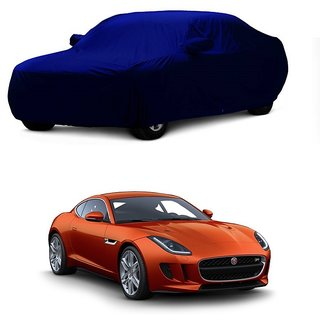 InTrend UV Resistant Car Cover For Tata Sonata Embera (Blue With Mirror )