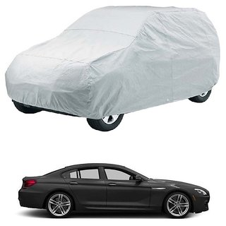 Buy InTrend Water Resistant Car Cover For Audi A Silver Without - Audi a8 car cover