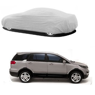 Bull Rider Car Cover For Tata Indica Vista (Silver Without Mirror )