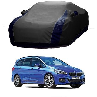 SpeedGlorY All Weather  Car Cover For Mahindra XYLO (Designer Grey  Blue )