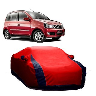 Speediza Water Resistant  Car Cover For Volvo S80 (Designer Red  Blue )